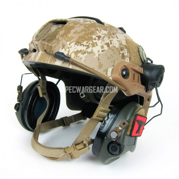 Ops-Core Fast Base Jump Helmet with Iron Forged Concepts SARA