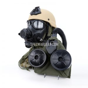M45 Chem-Bio Gas Mask and C420 Powered Air Purifying Respirator (PAPR)