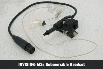 INVISIO® M3s Submersible Headset (Video included)