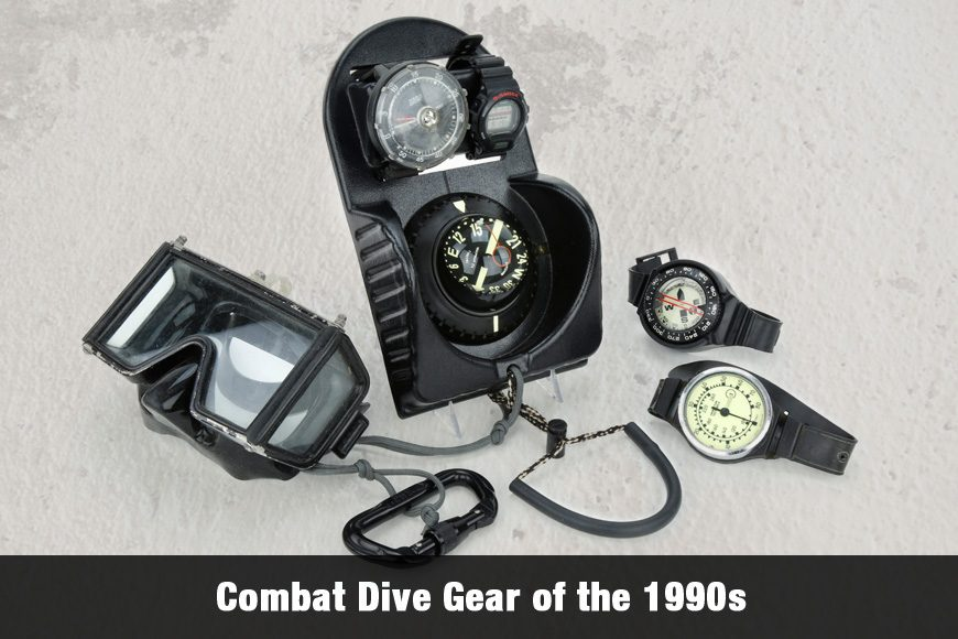 Combat Dive Gear of the 1990s (Videos included)