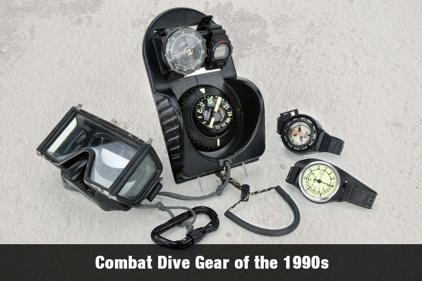 Combat Dive Gear of the 1990s