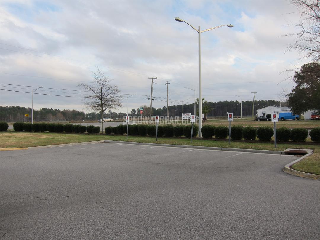LBT parking lots