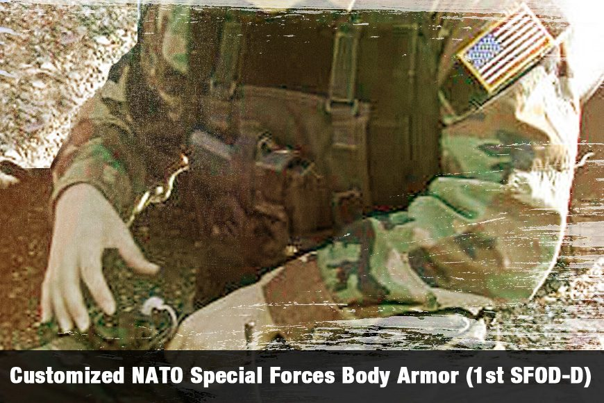 Customized NATO Special Forces Body Armor (1st SFOD-D)