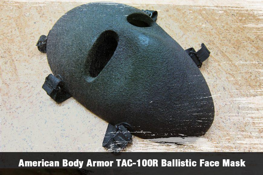 American Body Armor TAC-100R Ballistic Face Mask