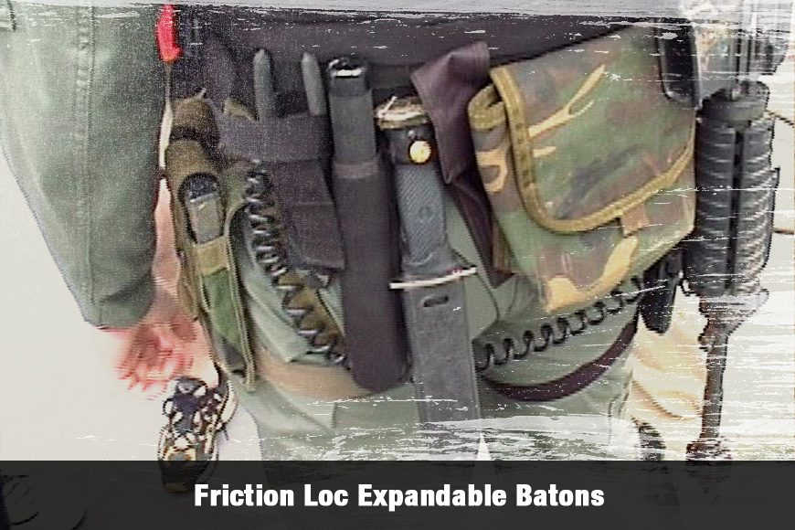 Navy SEALs VBSS Gear: ASP Friction Loc Expandable Batons