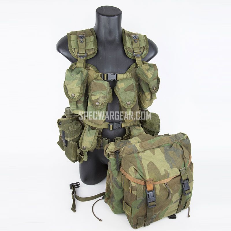 Experimental Tactical Load Bearing Vest 1986 (2nd Pattern) & Combat Patrol Pack