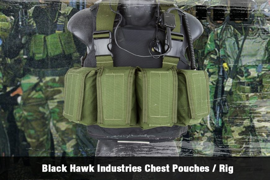 Black Hawk Industries Chest Pouches / Rig