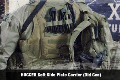 HUGGER Soft Side Plate Carrier (Old Gen)