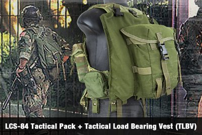 LCS-84 Tactical Pack + Tactical Load Bearing Vest (TLBV)