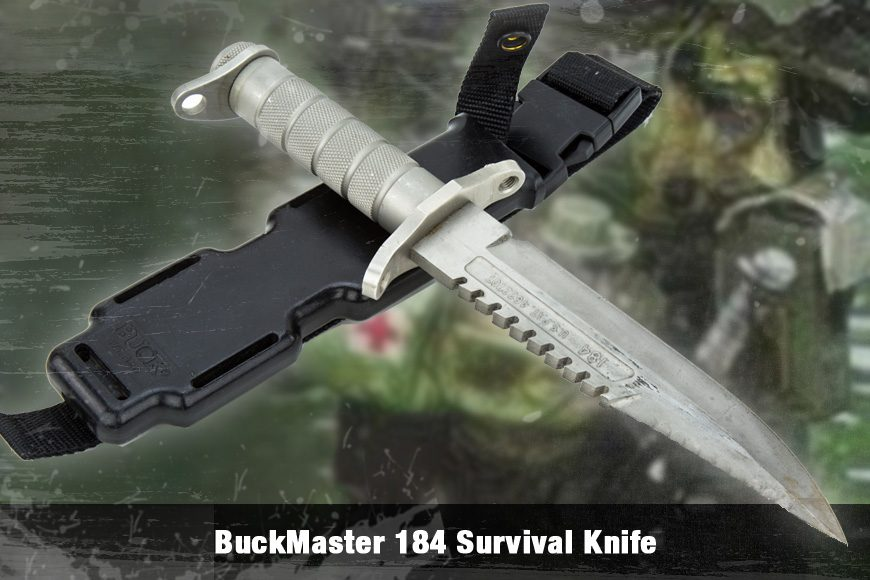 BuckMaster 184 Survival Knife