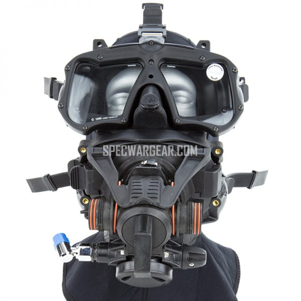Kirby Morgan M48 MOD-1Full Face Dive Mask + Rebreather POD