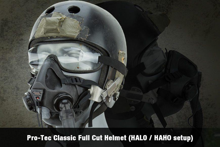 Pro-Tec Classic Full Cut Helmet (HALO / HAHO setup)