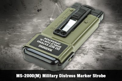 MS-2000(M) Military Distress Marker Strobe