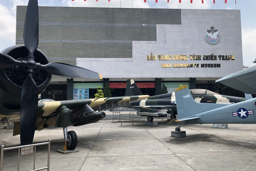 A Trip to War Remnants Museum (Vietnam, Ho Chi Minh City)