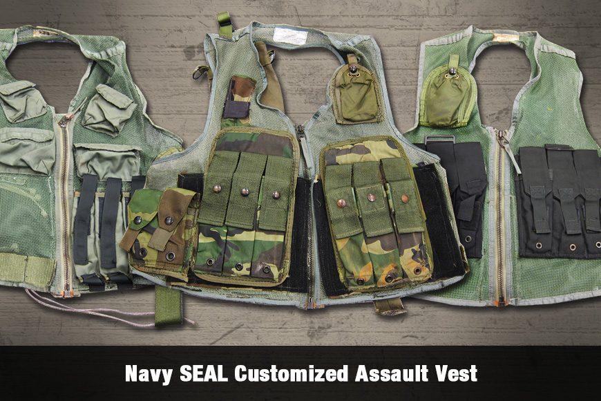 Navy SEAL Customized Assault Vests