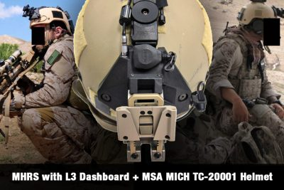 MHRS with L3 Dashboard + MSA MICH TC-20001 Helmet