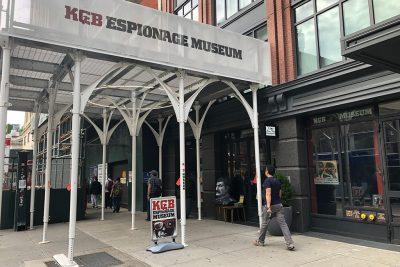 A Trip to KGB Espionage Museum, New York City