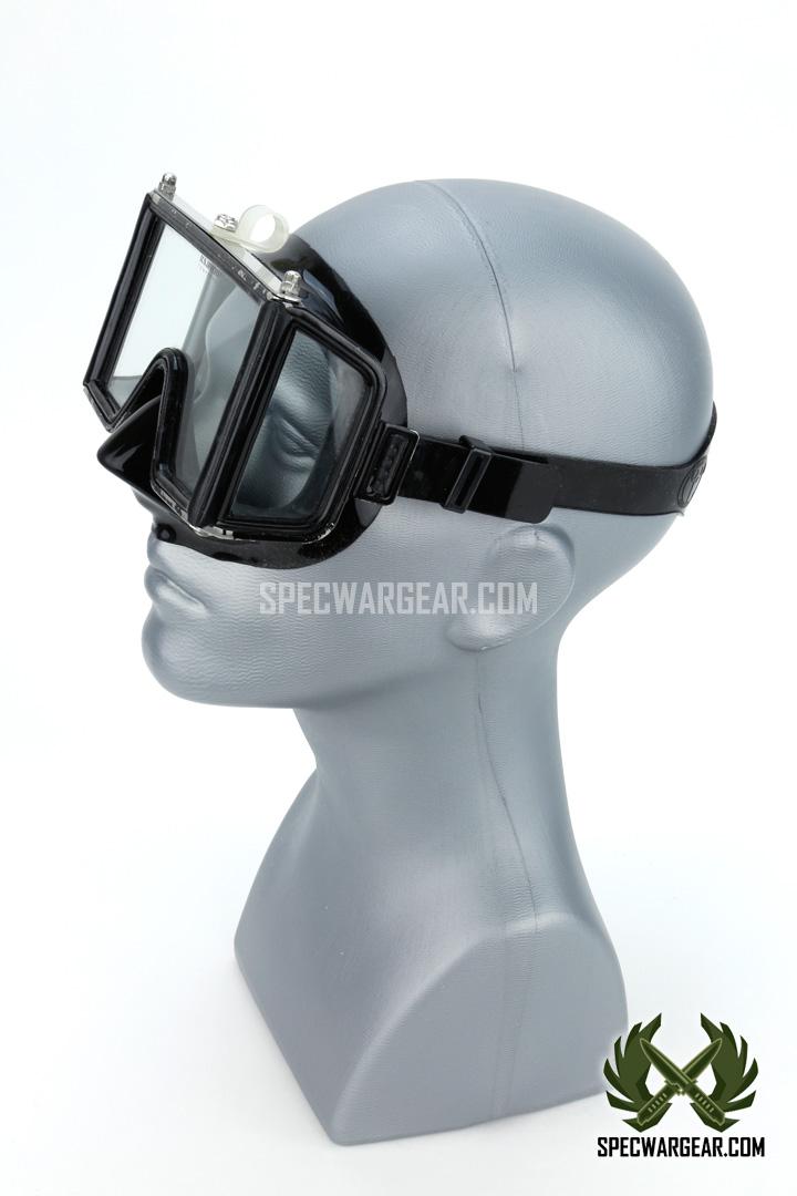 Us Divers Aqua Lung Wraparound Mask Military Version