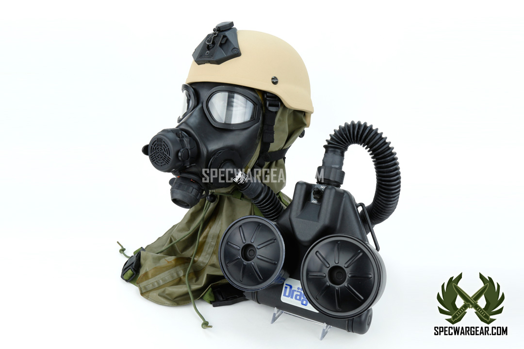 Safety Gas Can >> M45 Chem-Bio Gas Mask and C420 Powered Air Purifying Respirator (PAPR) - SPECWARGEAR.com