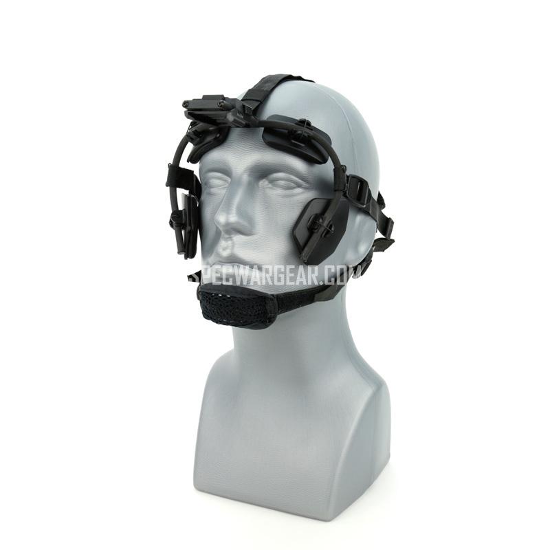 Litton Skull Crusher NVG Head Face Mount (Stationary Version)