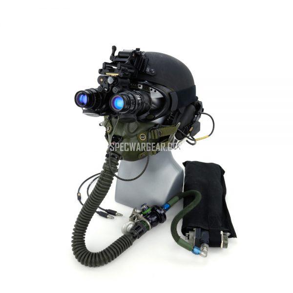 ILC Dover Integrated Ballistic Helmet (IBH) + Parachutist Oxygen System
