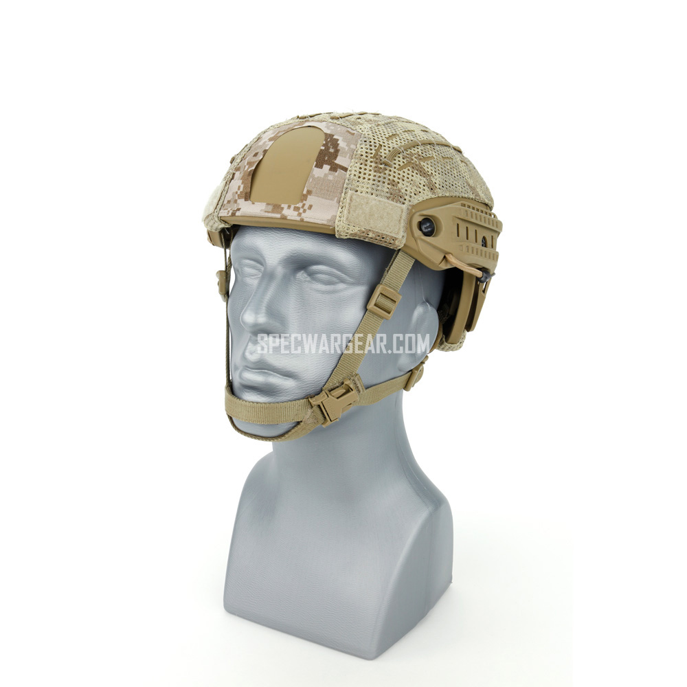Crye Precision AirFrame™ Helmet + AOR1 Helmet Cover (Cutout)