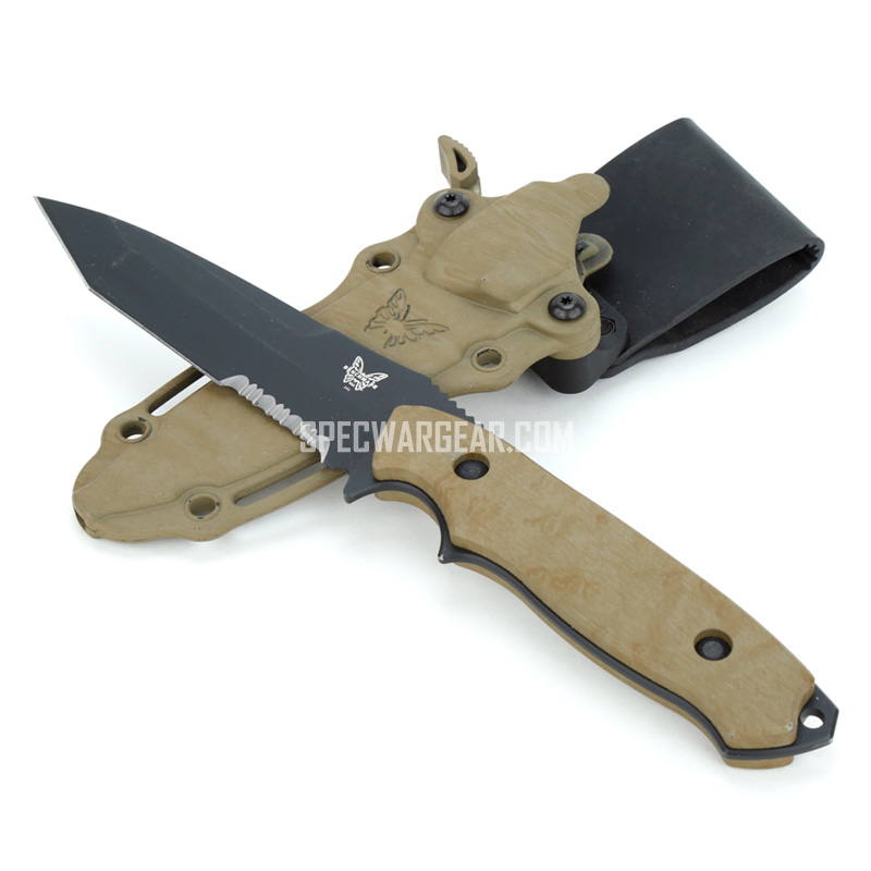 Benchmade Nimravus Fixed Blade Knife (USMC FSBE II)