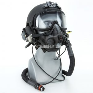 Integrated Ballistic Helmet (IBH) + PM HALO/HAHO Oxygen Mask