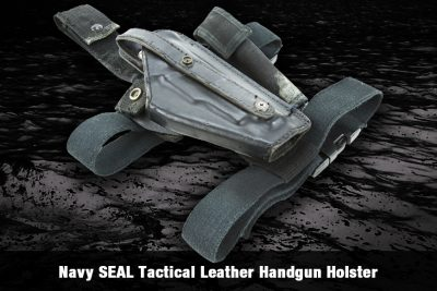 Navy SEAL Tactical Leather Handgun Holster
