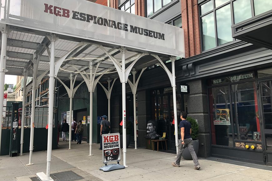 A Trip to KGB Espionage Museum, New York City